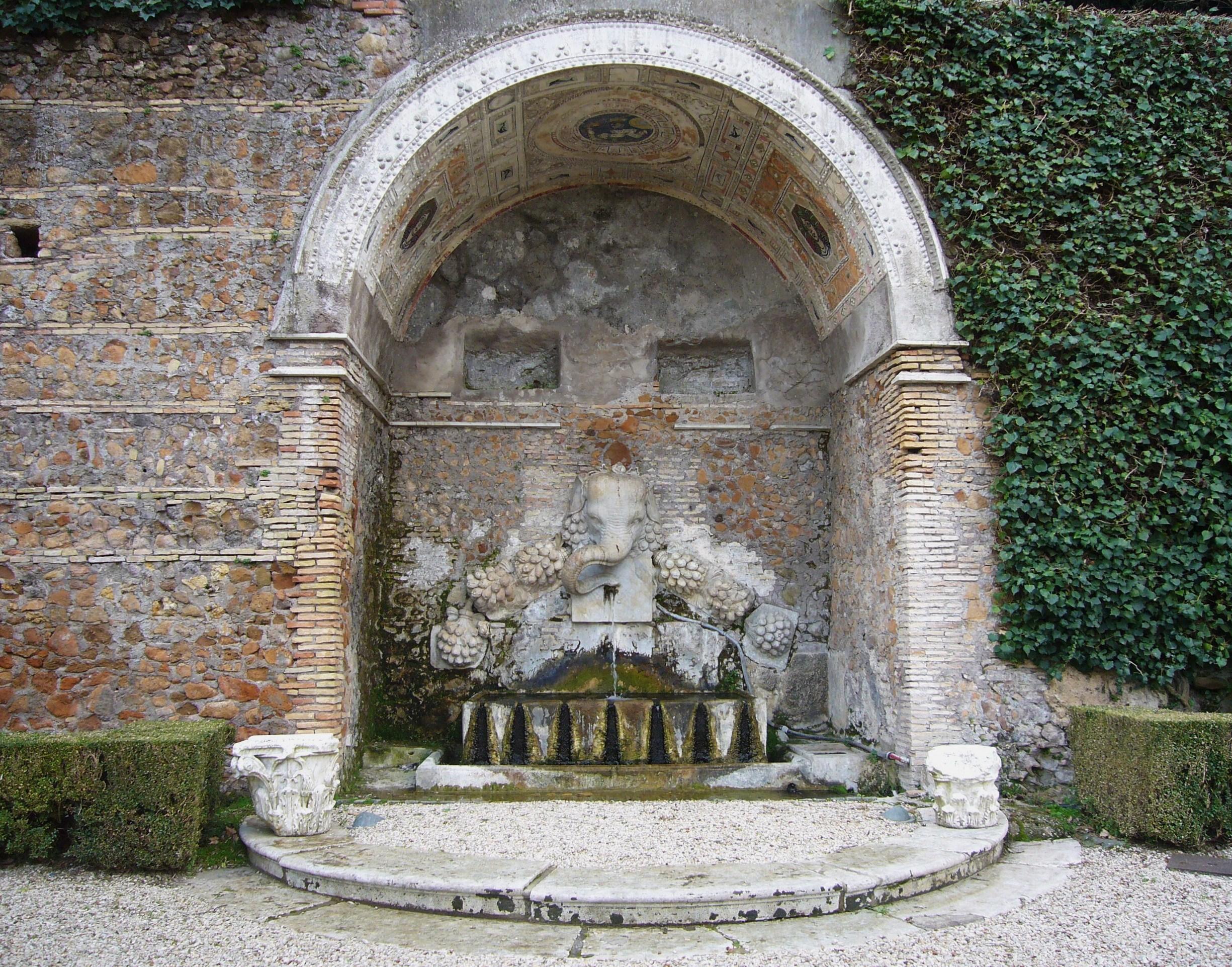 Raffaello sanzio villa madama thinglink - Fontane da giardino roma ...